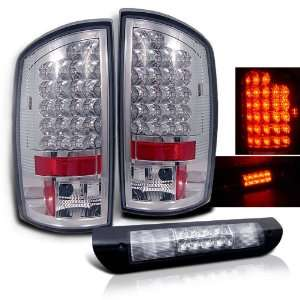 Dodge Ram LED Tail Lights + LED Brake Light Brand New Left + Right Set