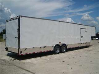 ENCLOSED CARGO TRAILER AUTO CAR HAULER RACE TRAILER 5200 102x36