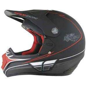 Fly Racing Lite IV Rat Rod Helmet   2007   Medium/Flat