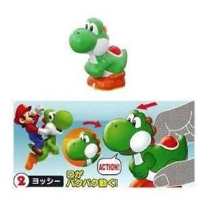 Nintendo Super Mario Bros. Yoshi Action Mini Figure Toys & Games